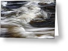 Water Flow 2 Greeting Card