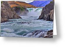 Torres Del Paine 001 Greeting Card