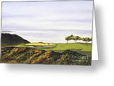 Torrey Pines South Golf Course Greeting Card by Bill Holkham