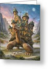 Tortoise House Greeting Card