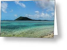 Tortola Waters Greeting Card