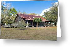 Tosohatchee Cattle Ranch In Central Florida Greeting Card