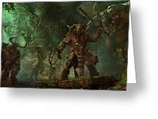 Total War Warhammer Greeting Card