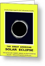 Totality II Greeting Card