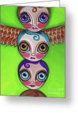Totem Dolls Greeting Card