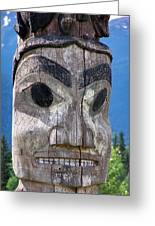 Totem Greeting Card