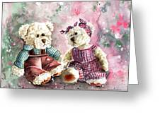 Toto Et Lolo Greeting Card