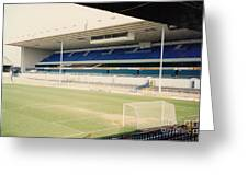 Tottenham - White Hart Lane - East Stand 4 - April 1991 Greeting Card