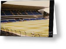 Tottenham - White Hart Lane - West Stand 2 - 1980s Greeting Card