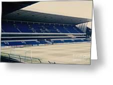 Tottenham - White Hart Lane - West Stand 3 - 1980s Greeting Card