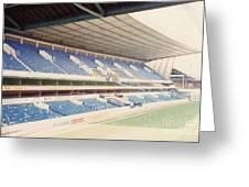 Tottenham - White Hart Lane - West Stand 4 - April 1991 Greeting Card