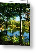 Touch Of Autumn Greeting Card