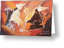 Touch Of Dreams Greeting Card