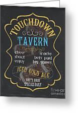 Touchdown Tavern Greeting Card