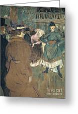 Toulouse-lautrec, 1892 Greeting Card