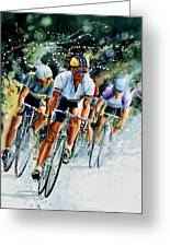Tour De Force Greeting Card
