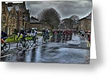 Tour De Yorkshire Ripley Greeting Card