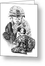 Tour Of Duty - Women In Combat Le Greeting Card
