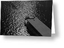 Tourboat On The Charles Greeting Card
