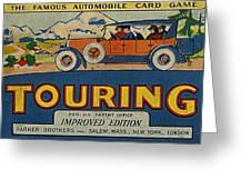 Touring Greeting Card