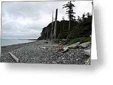 Tow Hill Haida Gwaii Bc Greeting Card