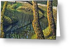 Tow Path Greeting Card