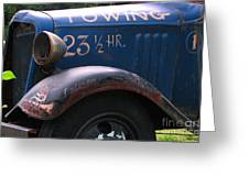 Tow Truck- 4 Greeting Card