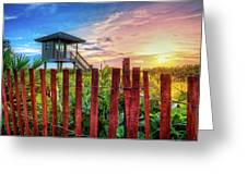 Tower At The Dunes Greeting Card