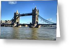 Tower Bridge 3 Greeting Card