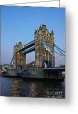 Tower Bridge 5 Greeting Card