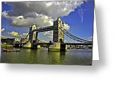 Tower Bridge I Greeting Card