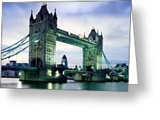 Tower Bridge - London Greeting Card
