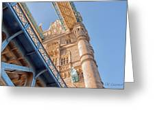 Tower Bridge Perspective Greeting Card