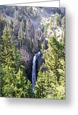 Tower Fall Yellowstone Greeting Card
