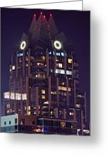 Tower In Austin Texas Greeting Card