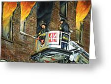 Tower Ladder 44-south Bronx Greeting Card