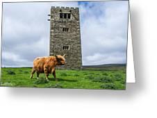 Tower Of Joy Greeting Card