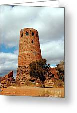 Tower Of Stone Greeting Card