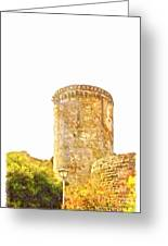 Tower Of The Castle Greeting Card