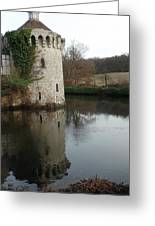 Tower Reflection Greeting Card