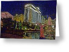 Towering Caesars Greeting Card