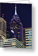 Towering Over Philly Greeting Card