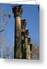 Towers Of Windser Greeting Card