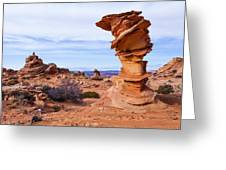 Towerscape Greeting Card by Chad Dutson