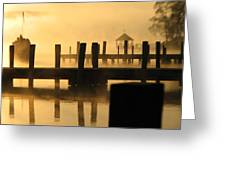 Town Docks Greeting Card