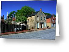 Town Of Harpers Ferry Greeting Card