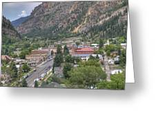 Town Of Ouray Greeting Card