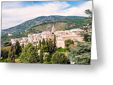 Town Of Tivoli Greeting Card
