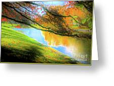 Town Pond Greeting Card