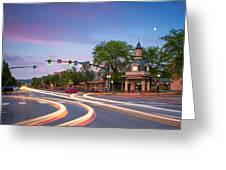 Towndown  Beaver  Greeting Card